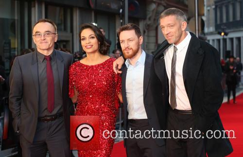 Danny Boyle, Rosario Dawson, James Mcavoy and Vincent Cassel 2