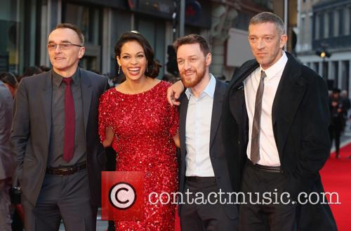 Danny Boyle, Rosario Dawson, James Mcavoy and Vincent Cassel 3