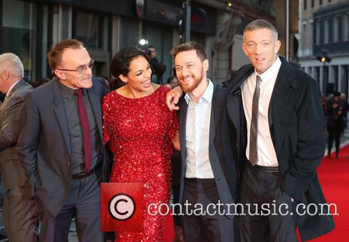 Danny Boyle, Rosario Dawson, James Mcavoy and Vincent Cassel 1