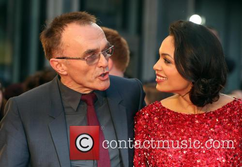 Danny Boyle and Rosario Dawson 5