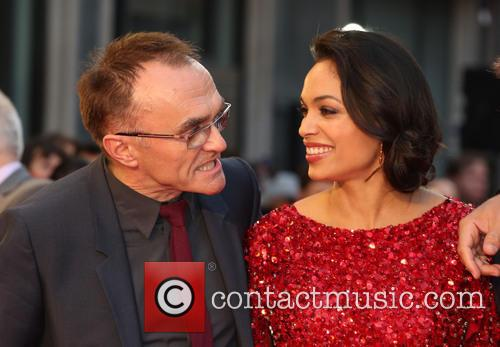 Danny Boyle and Rosario Dawson 9