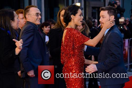 Danny Boyle, Rosario Dawson and James Mcavoy 10