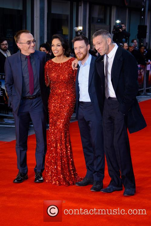Danny Boyle, Rosario Dawson, James McAvoy and Vincent Cassel 4