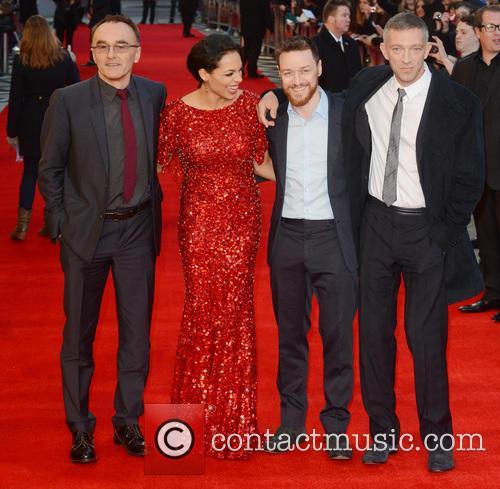 Danny Boyle, Rosario Dawson, James McAvoy, Vincent Cassel, Odeon West End
