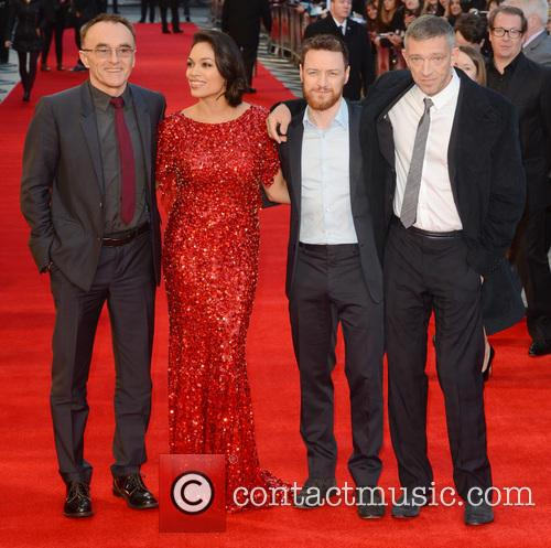 Danny Boyle, Rosario Dawson, James McAvoy and Vincent Cassel 7