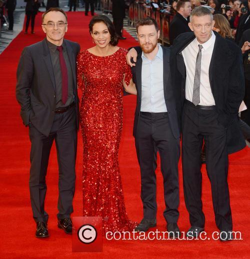 Danny Boyle, Rosario Dawson, James McAvoy and Vincent Cassel 8