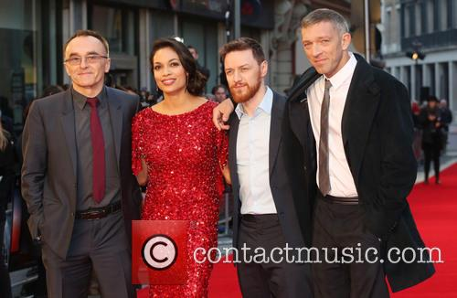 Danny Boyle, Rosario Dawson, James McAvoy and Vincent Cassel 9