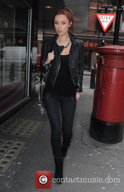 Una Healy, The Saturdays and Soho 9