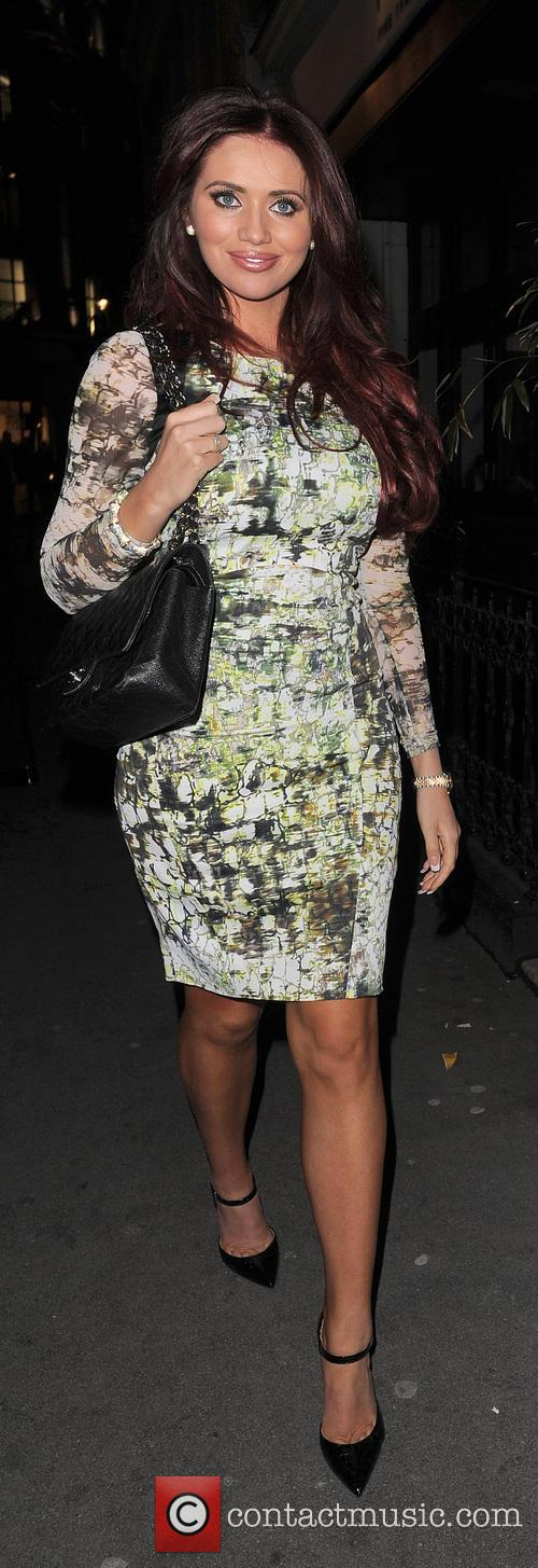 Amy Childs At Patara Thai Restaurant