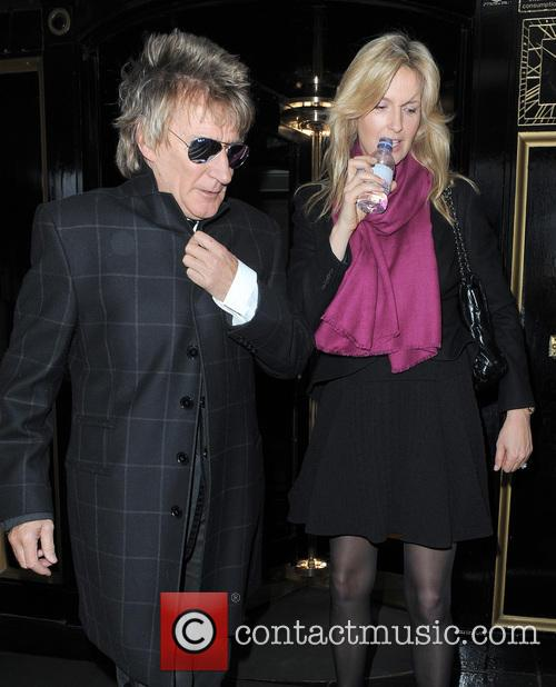Rod Stewart and Penny Lancaster-stewart 2