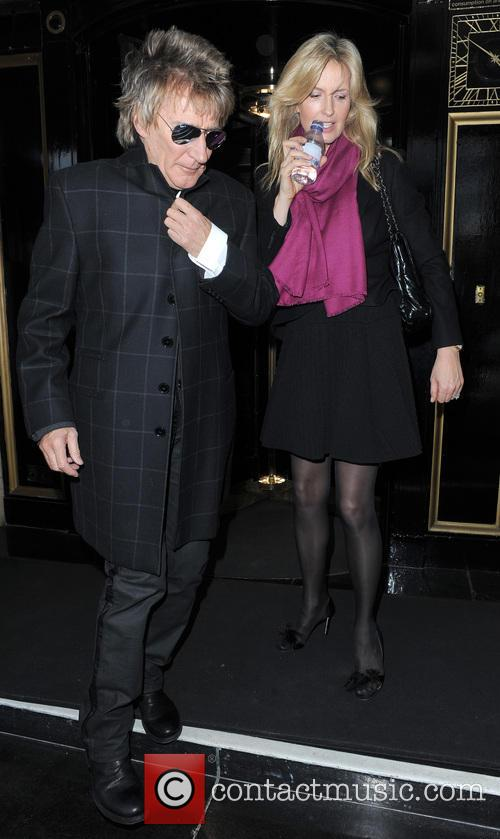 Rod Stewart and Penny Lancaster-stewart 1