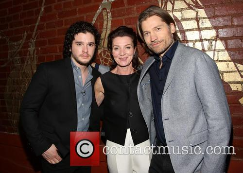 Kit Harington, Michelle Fairley and Nikolaj Coster-waldau 8