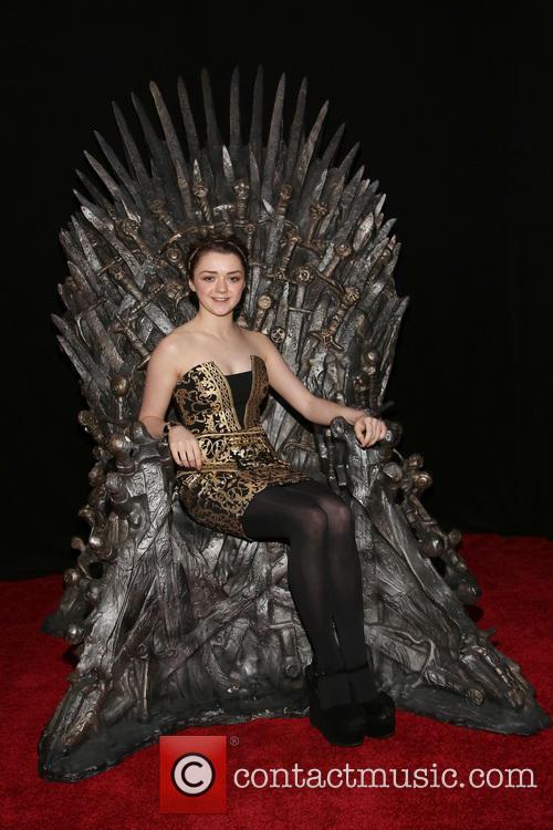 Maisie Williams plays Arya Stark in 'Game of Thrones'