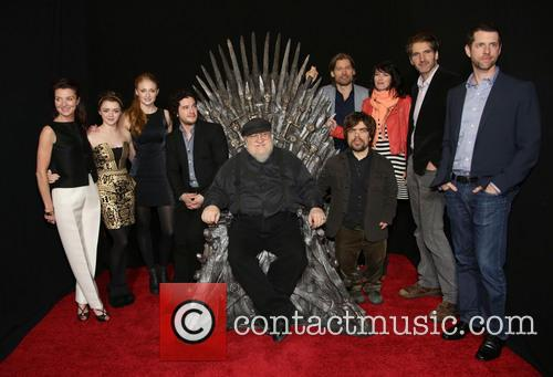 Game of Thrones Cast, George R.R. Martin