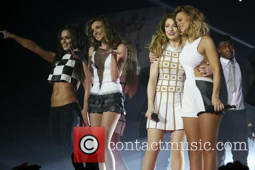 Cherly Cole, Nadine Coyle, Nicola Roberts, Kimberley Walsh and Girls Aloud 2