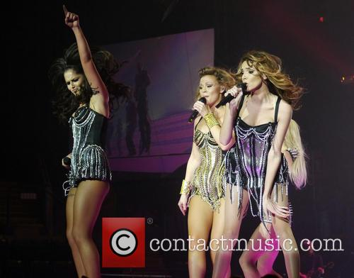 Cheryl Cole, Kimberley Walsh, Nadine Coyle and Girls Aloud 5