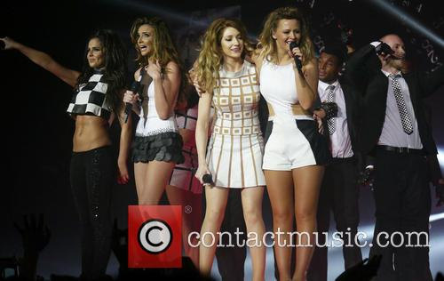 Cheryl Cole, Nadine Coyle, Nicola Roberts, Kimberley Walsh and Girls Aloud 2