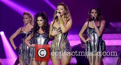 Kimberley Walsh, Nadine Coyle, Cheryl Cole, Sarah Harding and Girls Aloud 11