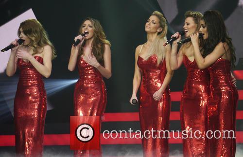 Kimberley Walsh, Nadine Coyle, Sarah Harding, Nicola Roberts, Cheryl Cole and Girls Aloud 3