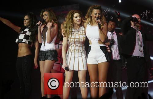 Girls Aloud performing live penultimate night of their...