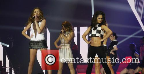 Nadine Coyle, Cheryl Cole and Girls Aloud 3