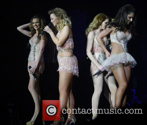 Nadine Coyle, Kimberley Walsh, Cheryl Cole and Girls Aloud 7