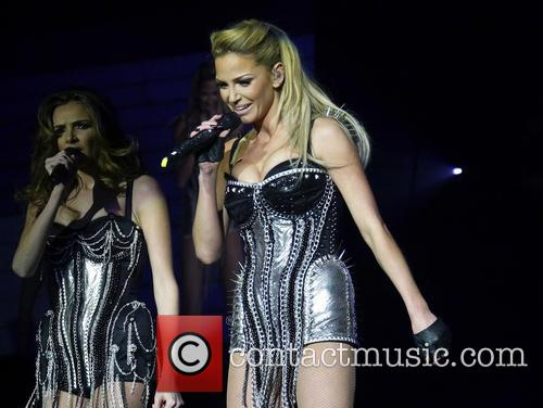 Nadine Coyle, Sarah Harding and Girls Aloud 10
