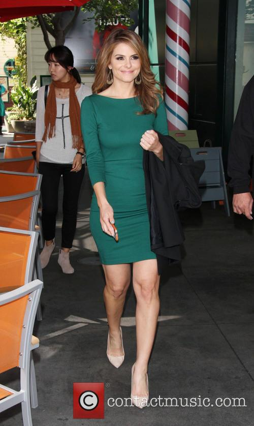 maria menounos celebrities spotted at the grove 3565242