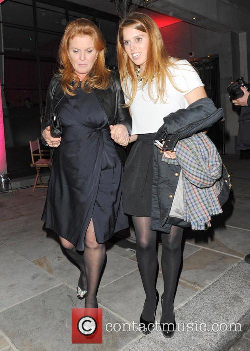 Princess Beatrice and Sarah Ferguson 2