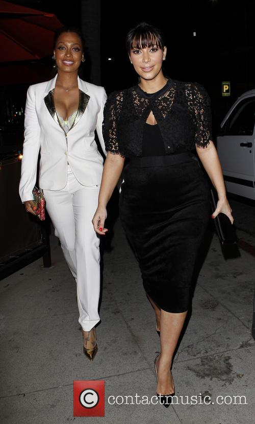 Kim Kardashian and Lala Vasquez 8