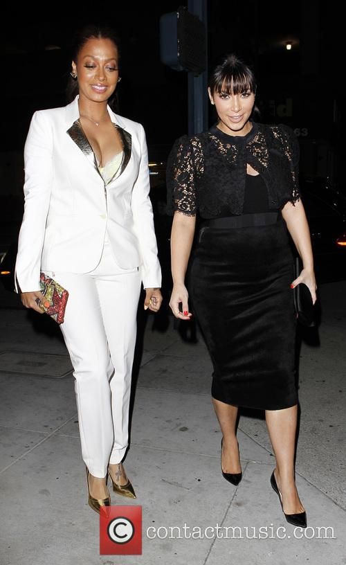 Kim Kardashian and Lala Vasquez 9