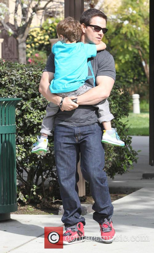 Mark Wahlberg and Brendan 3