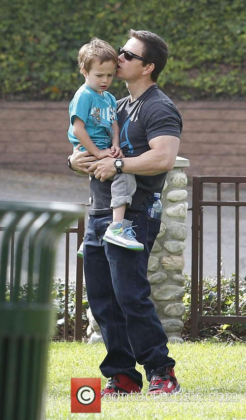 Mark Wahlberg and Brendan 5