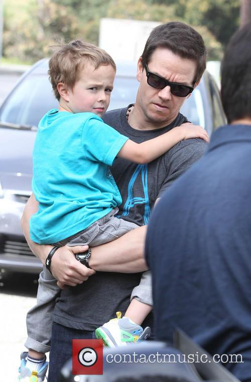 Mark Wahlberg and Brendan 8