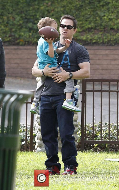 Mark Wahlberg and Brendan 11