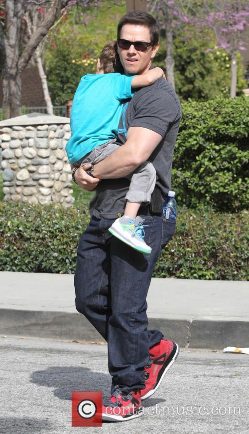 Mark Wahlberg and Brendan 6