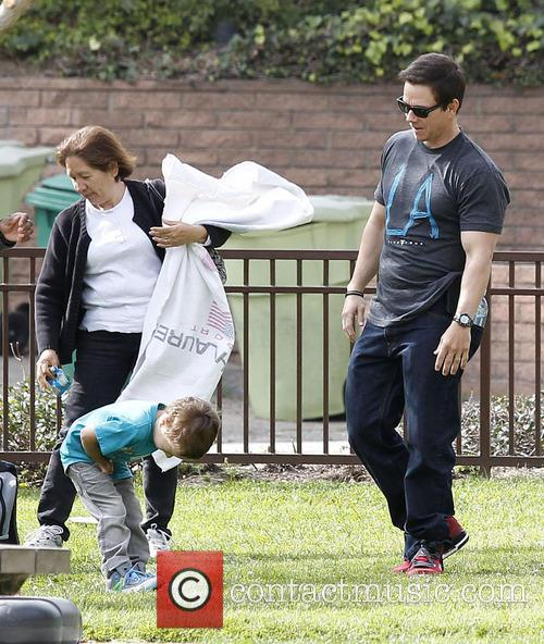 mark wahlberg mark wahlberg and his son 3564790