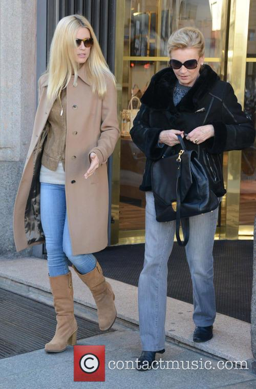 Michelle Hunziker Out Shopping