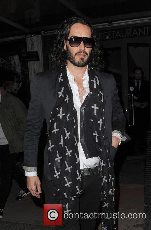 russell brand russell brand leaving the soho 3564655