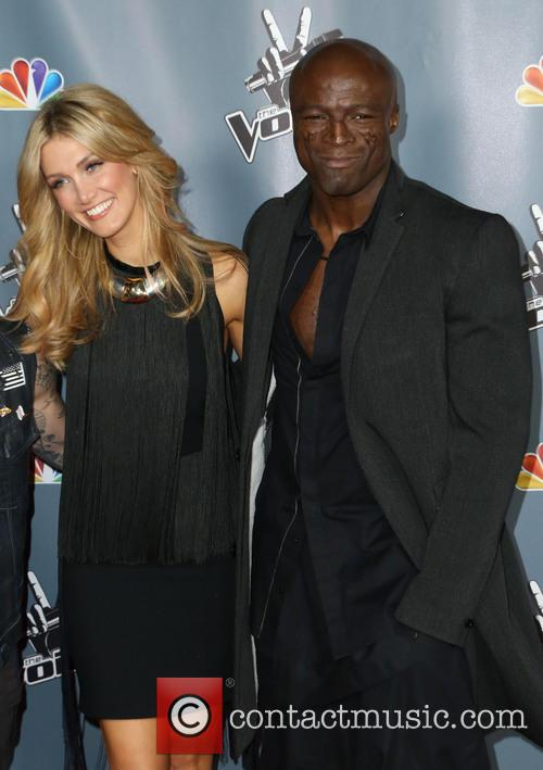 Delta Goodrem and Seal 5