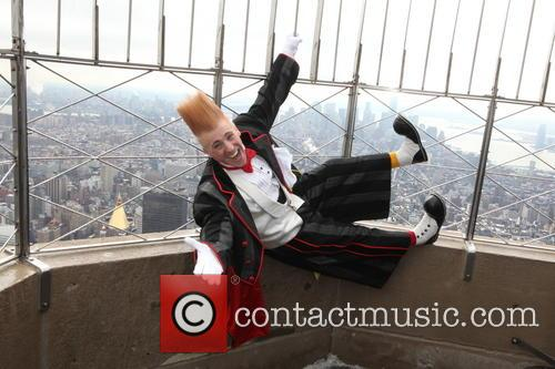 Bello Nock At The Empire State Building