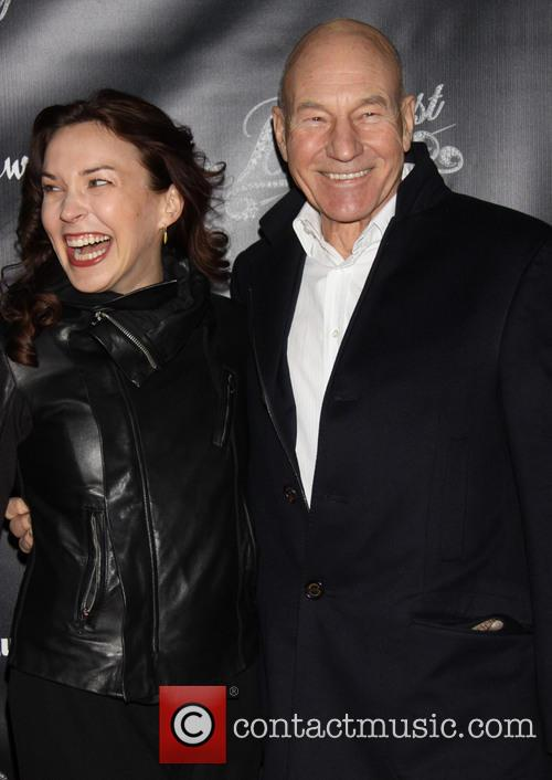 Sunny Ozell and Patrick Stewart 5