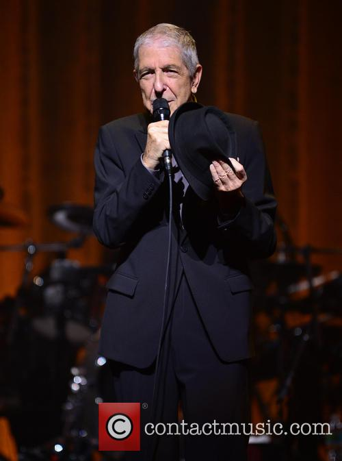 Leonard Cohen performs at James L Knight Center