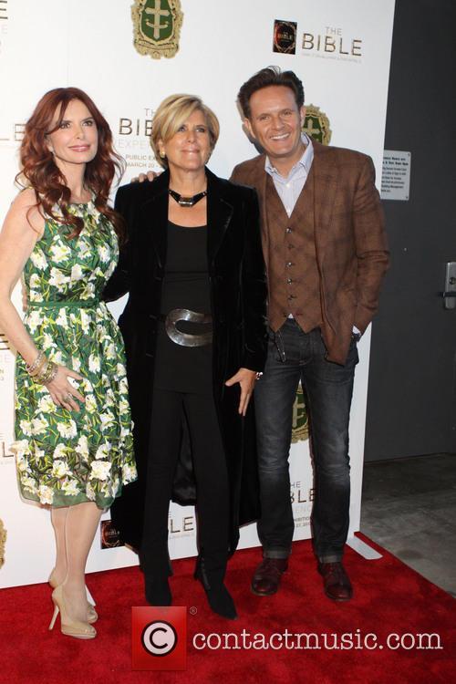 Mark Burnett, Roma Downey and Susie Orman 2