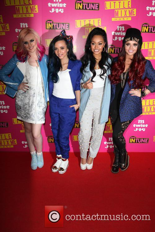 Perrie, Jade, Carly Rose, Jesy, Leigh-anne and Little Mix 1