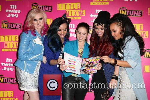 Perrie, Jade, Carly Rose, Jesy, Leigh-anne and Little Mix 3