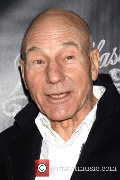 Sir Patrick Stewart, Breakfast at Tiffany's Opening Night