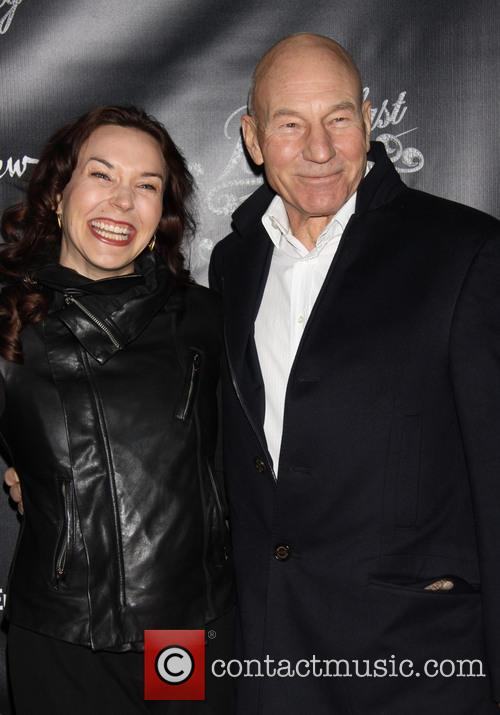 Sunny Ozell and Patrick Stewart 2