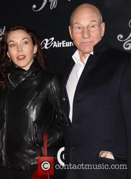 Sunny Ozell and Patrick Stewart 4