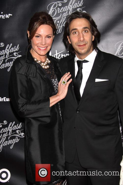 Countess Luann De Lessups and Jacques Azoulay 2